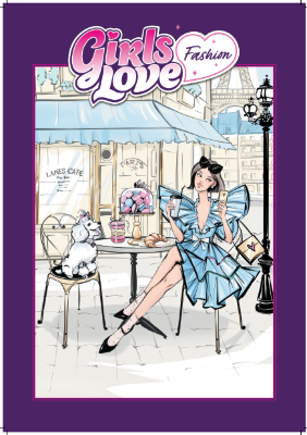 "Блокнот для творчества 23x33 см ""Girls Love Fashion"" ЯиГрушка - Ya!Style 16641"