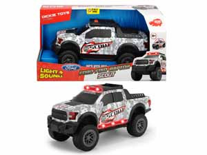 Машинка Scout Ford F150 Raptor 33см свет звук Dickie Toys 3756000