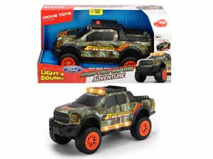 Машинка Adventure Ford F150 Raptor 33см свет звук Dickie Toys 3756001