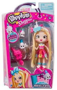 Кукла Shoppies Микаэла S8 Moose (Shopkins) 56710