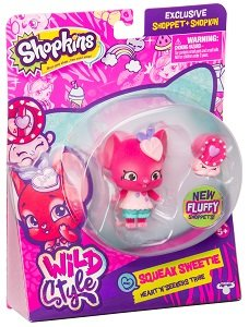Фигурка Shoppet c Шопкинс - Сквик Свити S9 Moose (Shopkins) 56961