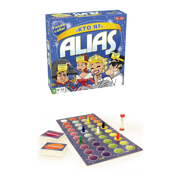 "Игра Alias ""Кто Я ?"" Tactic games 54529"