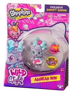 Фигурка Shoppet c Шопкинс - Амбер Боу S9 Moose (Shopkins) 56965