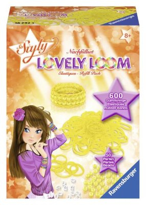Набор резинок Lovely Loom, желтые Ravensburger 18292
