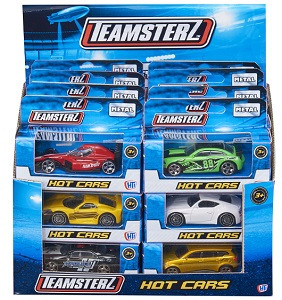 Машинка Teamsterz серия HOT CARS HTI (Teamsterz) 1416919