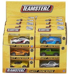 Машинка Teamsterz серия Hot racers HTI Teamsterz 1416921