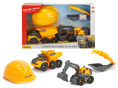 Набор Construction Volvo Dickie Toys 3729013