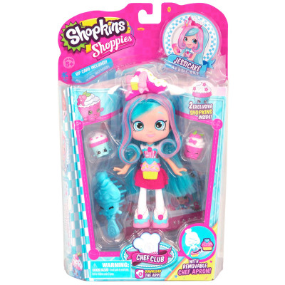 "Куклы Shoppies ""Кулинарный клуб"" (Jessicake) Moose (Shopkins) 56268"