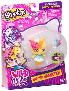 Фигурка Shoppet c Shopkins - Хип Хамстер Shoppies Moose (Shopkins) 56969