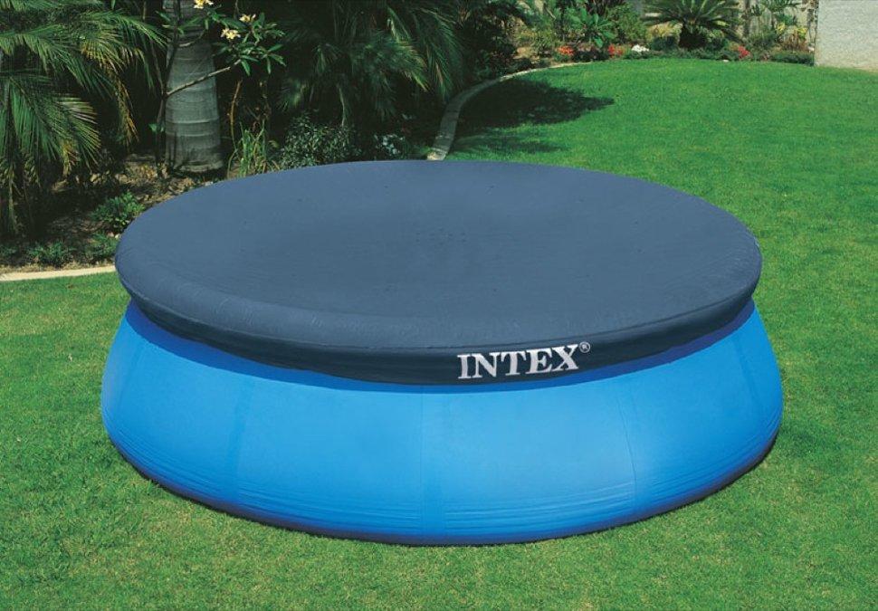 Круглый тент для надувного бассейна Easy set™ 305 см Intex 58938 (28021)