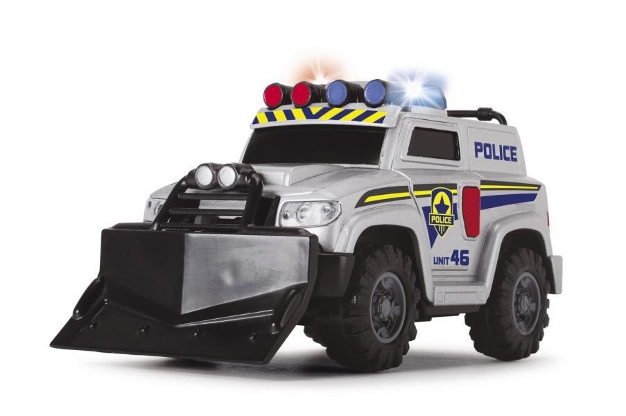 Полицейская машина со светом и звуком, 15см