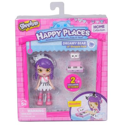 Набор с куклой Shoppie Мелодина S1 Moose (Happy Places) 56322