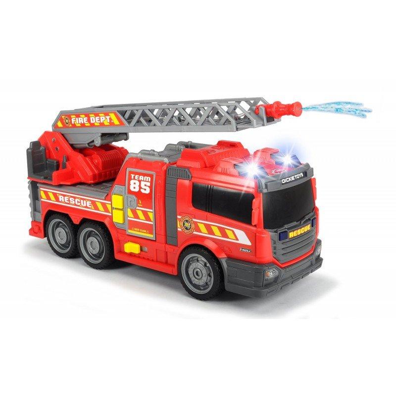 Пожарная машина 36см, с водой, св.,зв., св