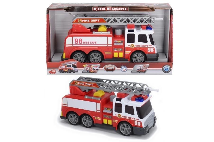 Пожарная машина функц., 37 см., с вида,з