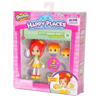 Набор с куклой Shoppie Кристина Эпл S1 Moose (Happy Places) 56410