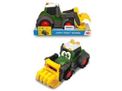 Погрузчик Happy Fendt Worker 30 см свет звук Dickie Toys 3815010